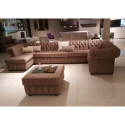 U Form Sofa Chesterfield