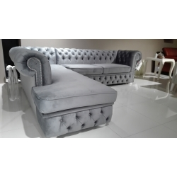 Ecksofa Chesterfield York