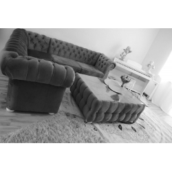 Ecksofa Chesterfield